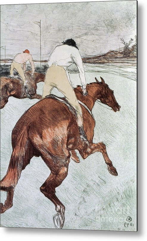 1899 Metal Print featuring the photograph Toulouse-lautrec, 1899 by Granger
