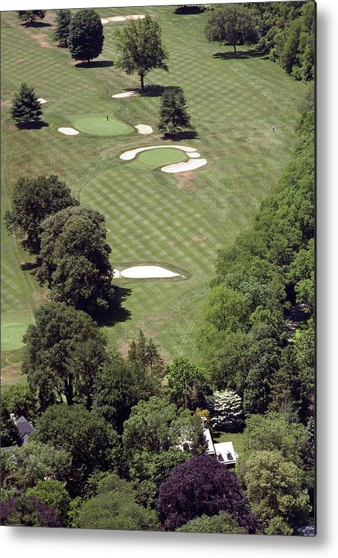 Philadelphia Cricket Club Metal Print featuring the photograph 2nd Hole Philadelphia Cricket Club St Martins Golf Course by Duncan Pearson