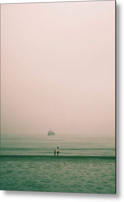 Sea Metal Print featuring the photograph Across The Atlantic by Ken Yan