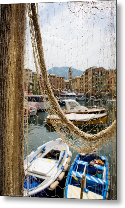 Italy Metal Print featuring the photograph Camogli 1 by Luigi Barbano BARBANO LLC