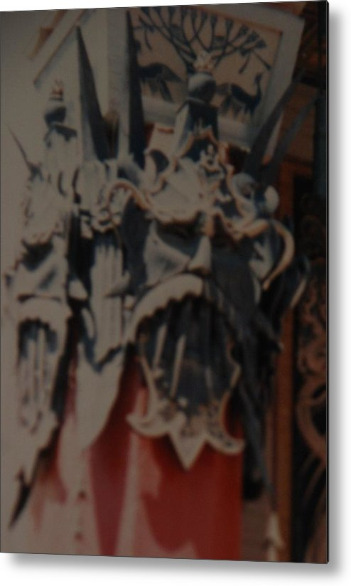 Grumanns Chinese Theater Metal Print featuring the photograph Chinese Masks by Rob Hans