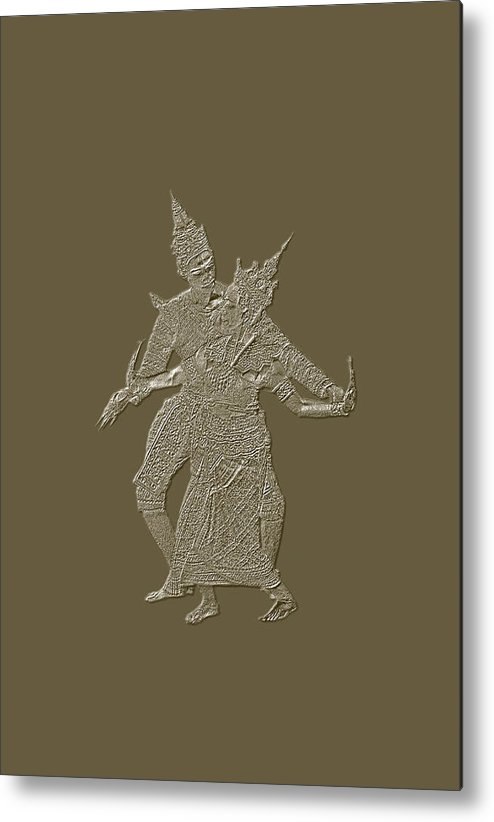 Buddha Metal Print featuring the photograph Dance For The Buddha by Patricia Bolgosano