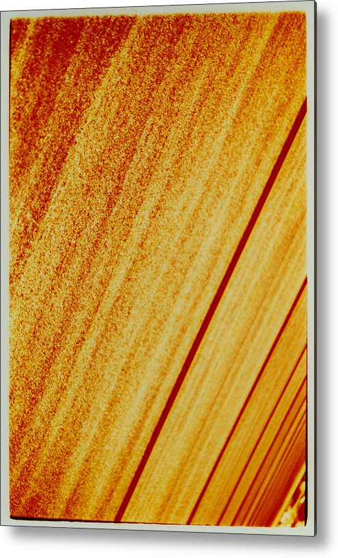 Abstract Metal Print featuring the photograph Sod by David Rivas