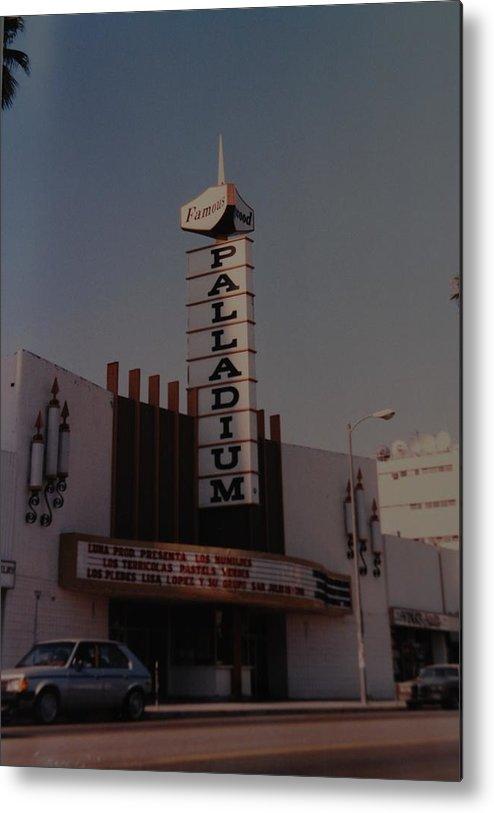 The Palladium Metal Print featuring the photograph The Palladium by Rob Hans