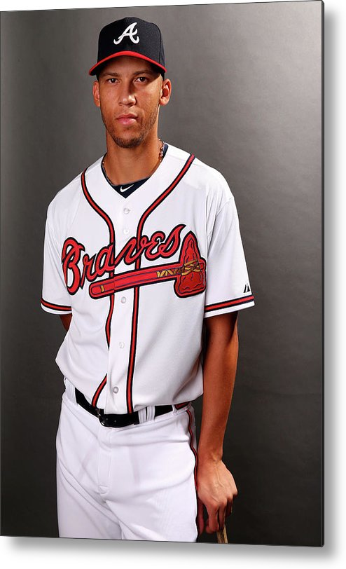 Media Day Metal Print featuring the photograph Andrelton Simmons by Elsa