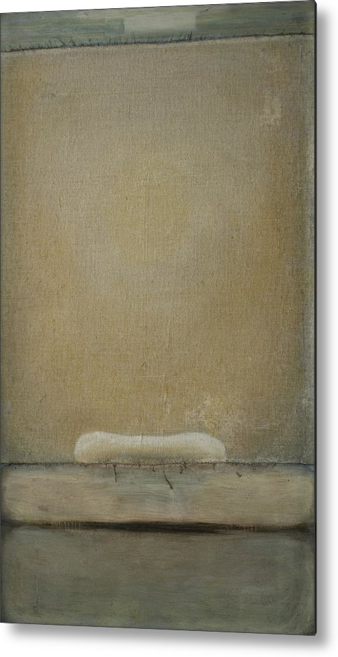 Bed Metal Print featuring the painting Gate by Oni Kerrtu