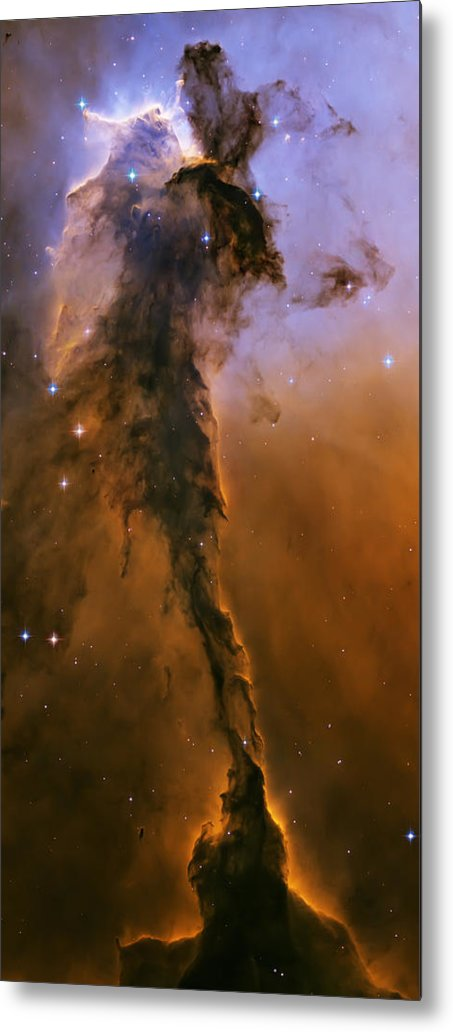 3scape Photos Metal Print featuring the photograph Stellar Spire In The Eagle Nebula by Adam Romanowicz