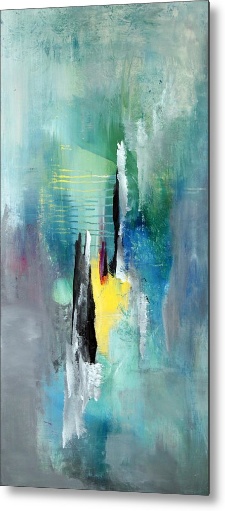 Acrylic Metal Print featuring the painting A Passing Moment2 by Paul Harrington
