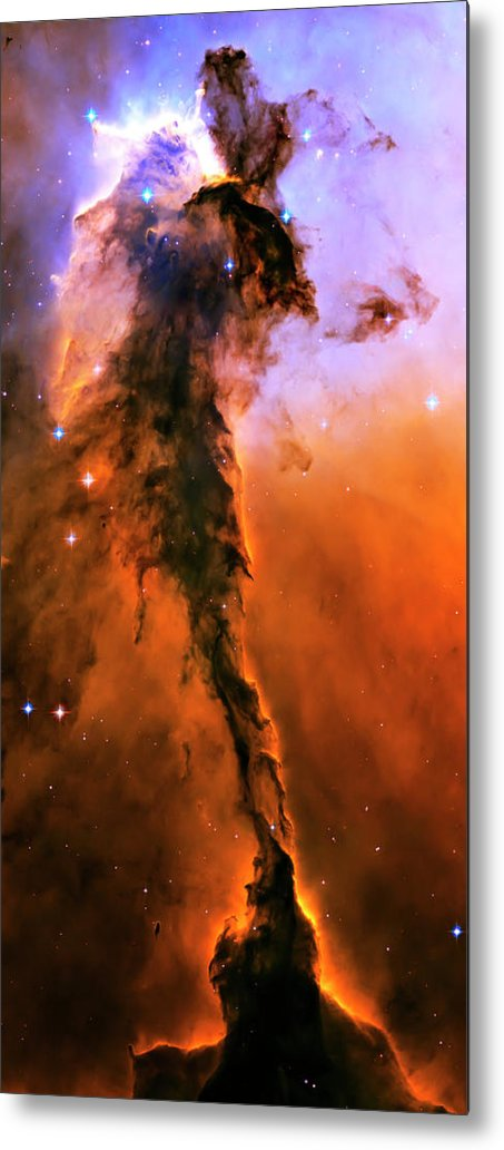 Outer Space Metal Print featuring the photograph Release - Eagle Nebula 1 by Jennifer Rondinelli Reilly - Fine Art Photography