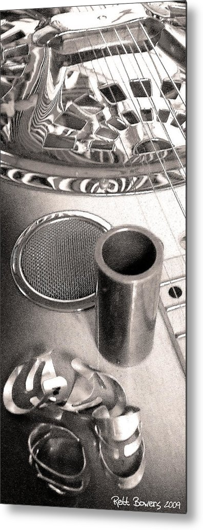 Dobro Metal Print featuring the photograph Tools Of The Trade 3 by Everett Bowers