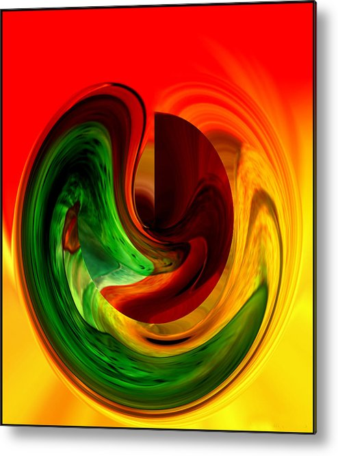 Colors Metal Print featuring the photograph Happiness by Susan Williams