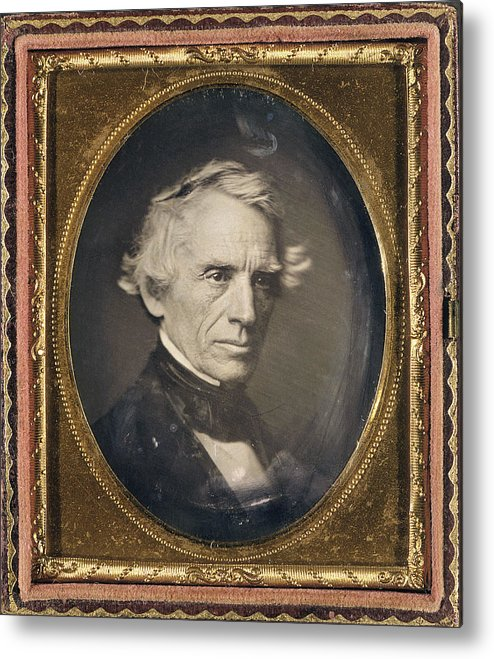 1845 Metal Print featuring the photograph Samuel Finley Breese Morse by Granger