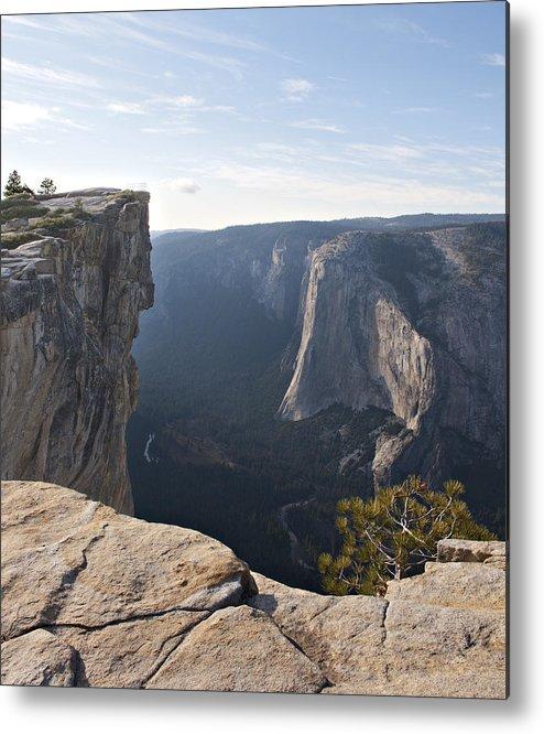 Taft Point Metal Print featuring the photograph Taft Point Yosemite by Matthew McAward