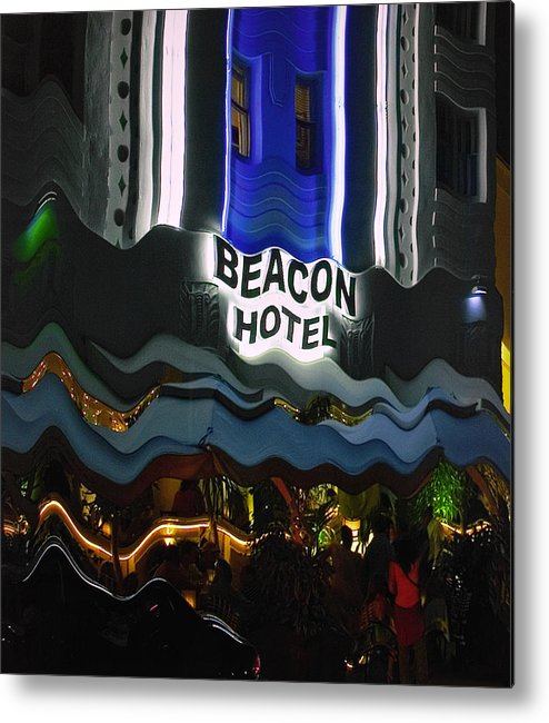 Beacon Hotel Metal Print featuring the photograph The Beacon Hotel by Gary Dean Mercer Clark