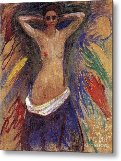 Art Metal Print featuring the painting The Hands by Edvard Munch