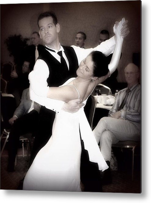 Dance Metal Print featuring the photograph Dance With Me by Lori Seaman