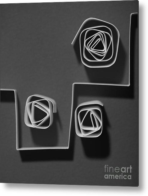 Paper Metal Print featuring the photograph Divide by Gabriela Insuratelu