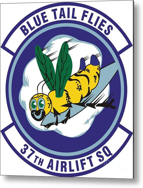 Langley Afb Virginia Metal Print featuring the photograph 37th Tactical Airlift Squadron by David Bearden