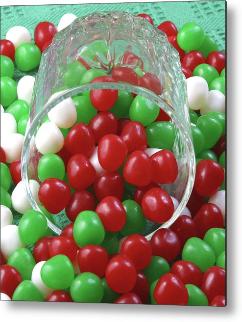 Christmas Metal Print featuring the photograph Christmas Candy by Jack Dagley