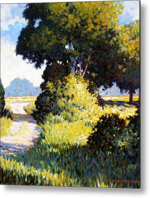 Landscape Metal Print featuring the painting Memory by Kevin Lawrence Leveque