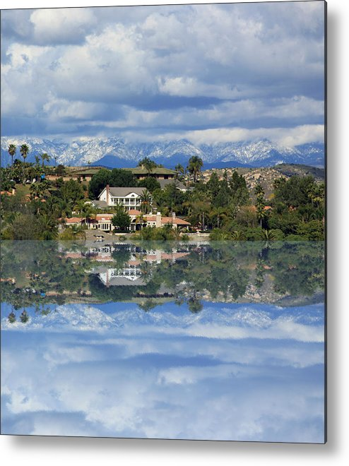 Landscapes Metal Print featuring the photograph Reflections by Lisa Baer