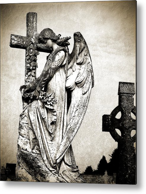 Ireland Metal Print featuring the photograph Roscommon Angel No 1 by Teresa Mucha