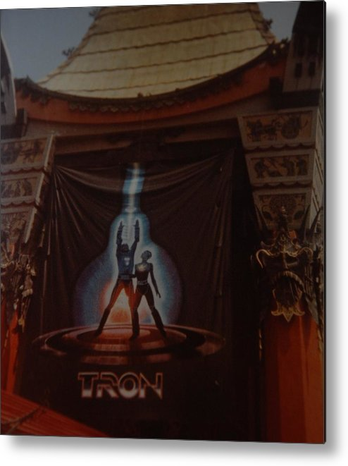 Grumanns Chinese Theater Metal Print featuring the photograph Tron by Rob Hans