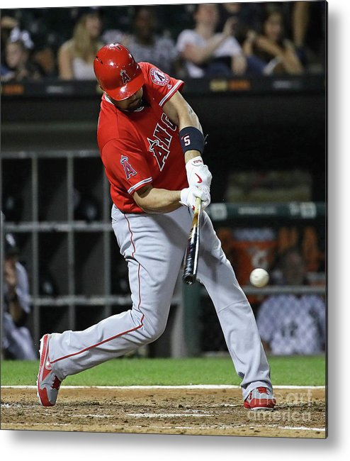 People Metal Print featuring the photograph Albert Pujols by Jonathan Daniel