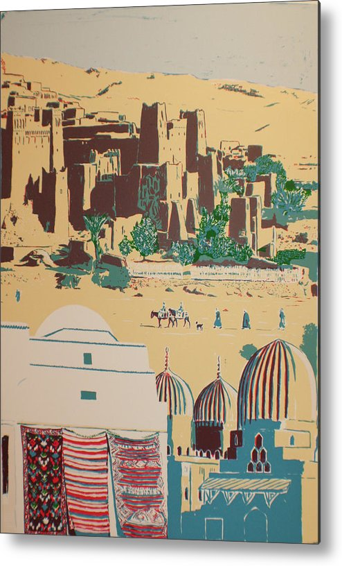 Metal Print featuring the print North African Landscape by Biagio Civale