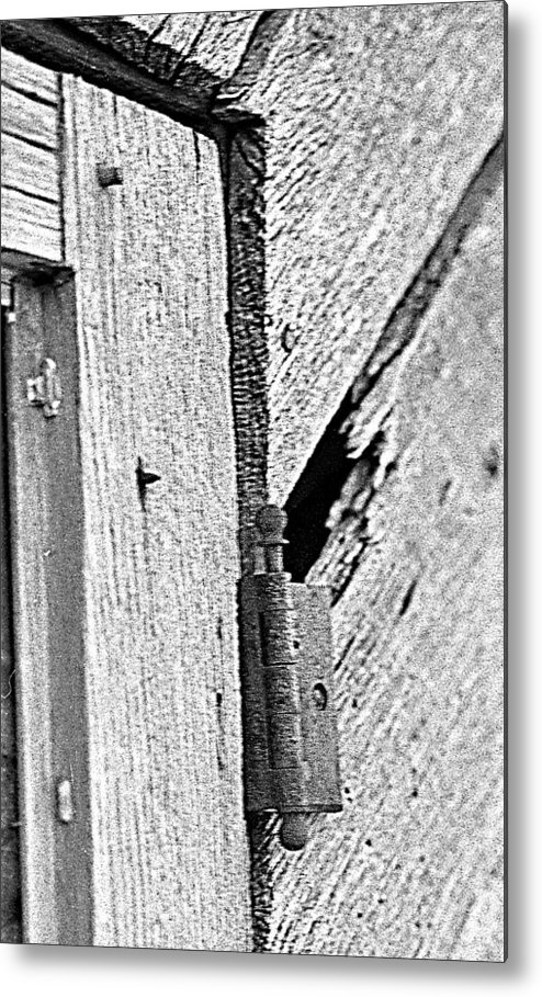 Ansel Adams Metal Print featuring the photograph Hinge by Curtis J Neeley Jr
