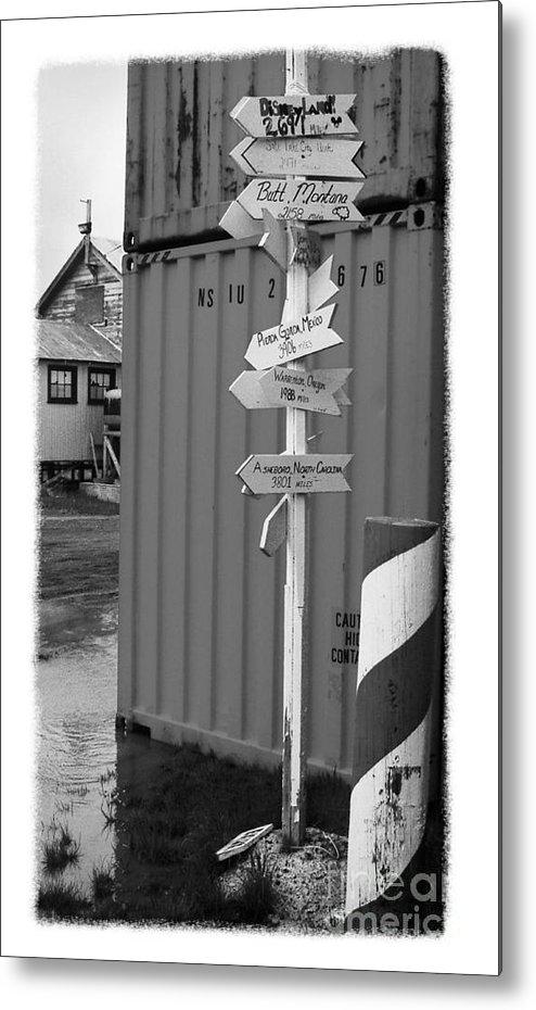 Alaska Metal Print featuring the photograph The Real Alaska - Crossroads by Pete Hellmann