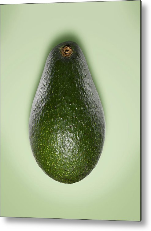 Avocado Metal Print featuring the photograph Avocado by Adrian Burke