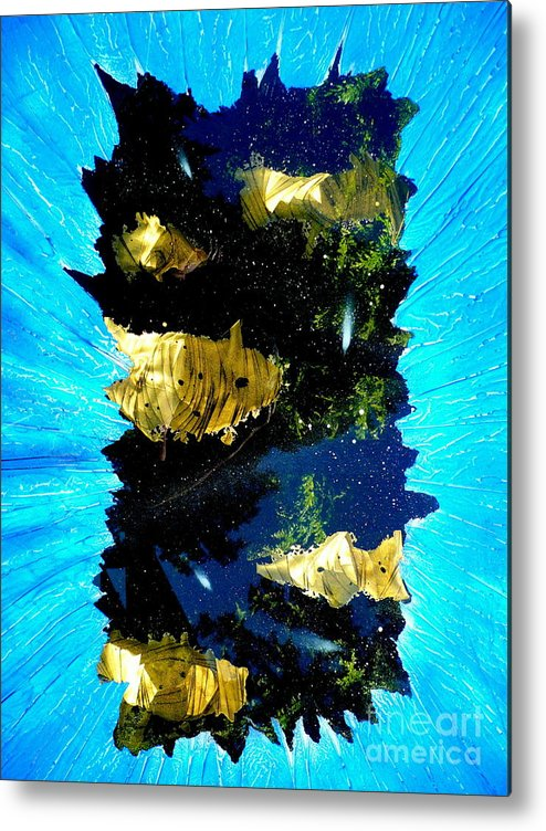 Space Metal Print featuring the painting Beyond View by Rick Silas
