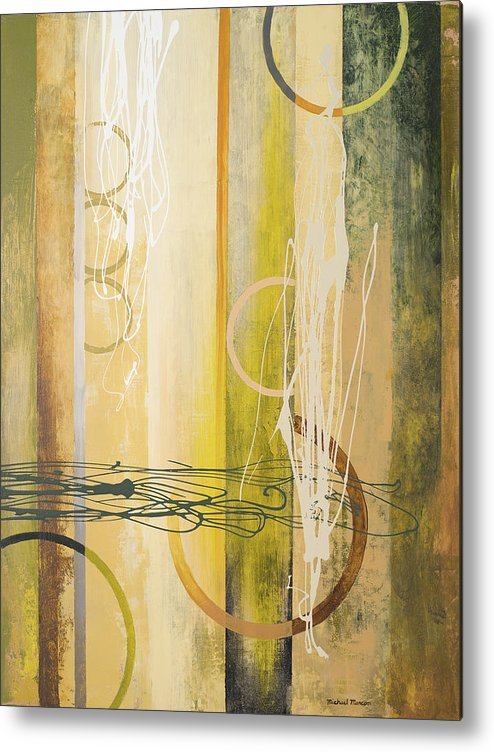 Neutral Metal Print featuring the painting Neutral Earthbound II by Michael Marcon