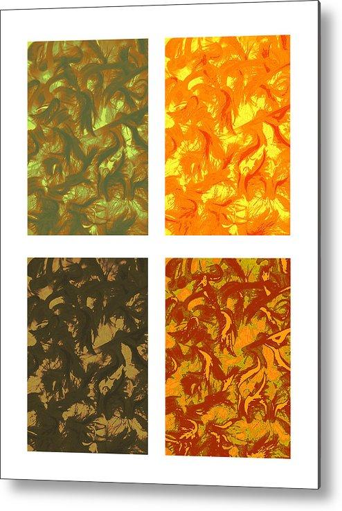 Seasons Metal Print featuring the photograph Seasons Series by Katherine Morgan