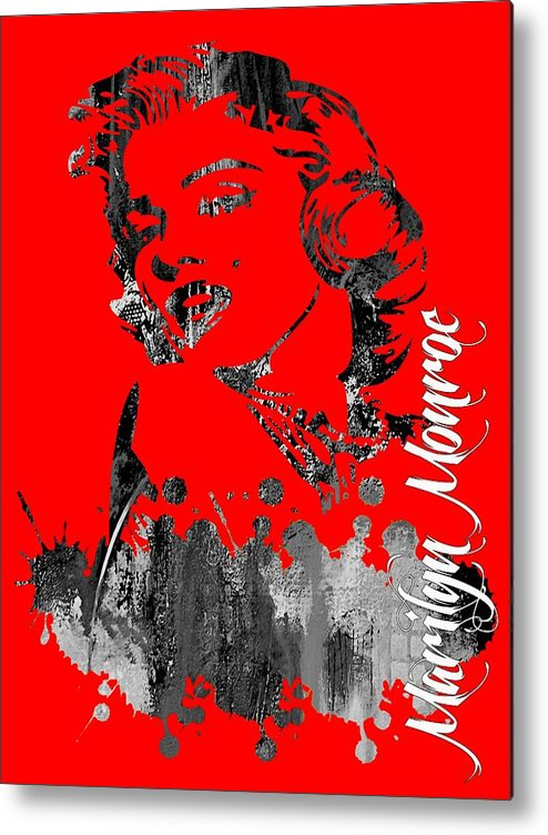 Marilyn Monroe Metal Print featuring the mixed media Marilyn Monroe Collection by Marvin Blaine