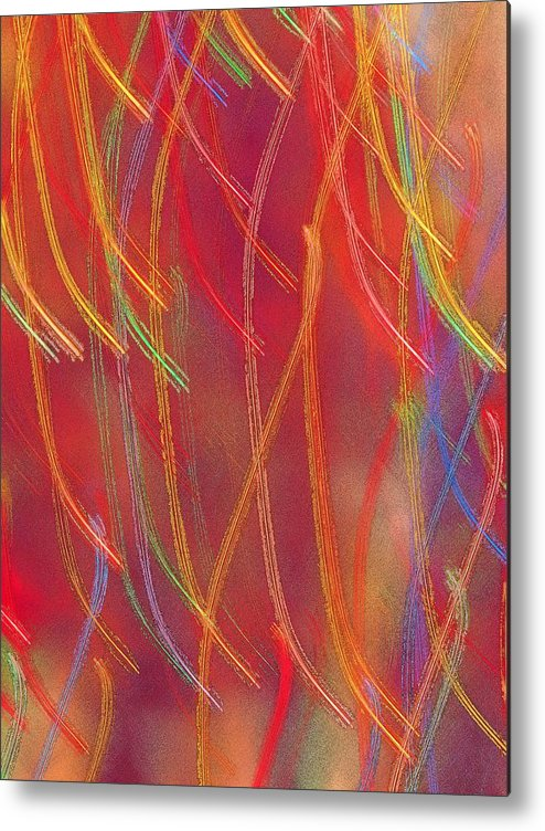 Abstract Metal Print featuring the photograph Celebration by Gaby Swanson