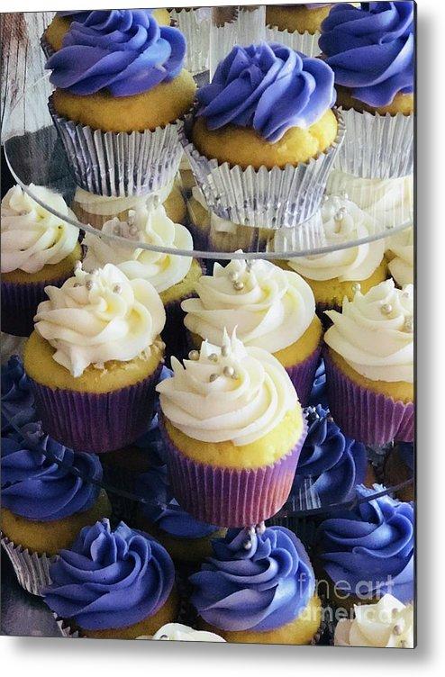 Cupcakes Metal Print featuring the photograph Cuppy Cakes by Deborah Selib-Haig DMacq