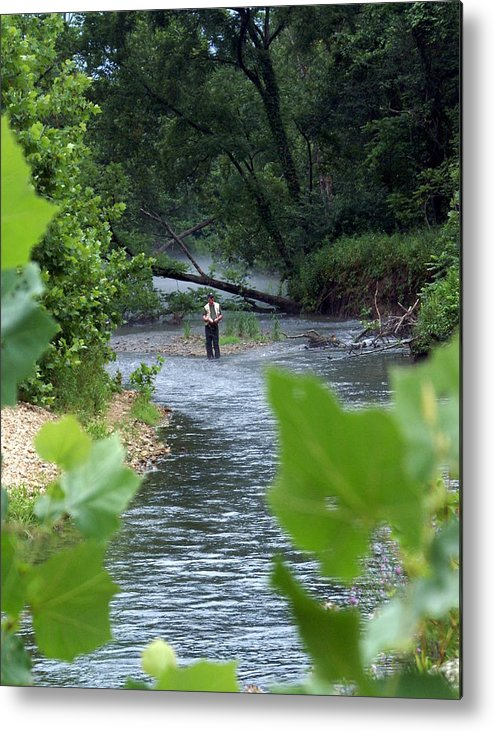 Current River Metal Print featuring the photograph Current River 5 by Marty Koch