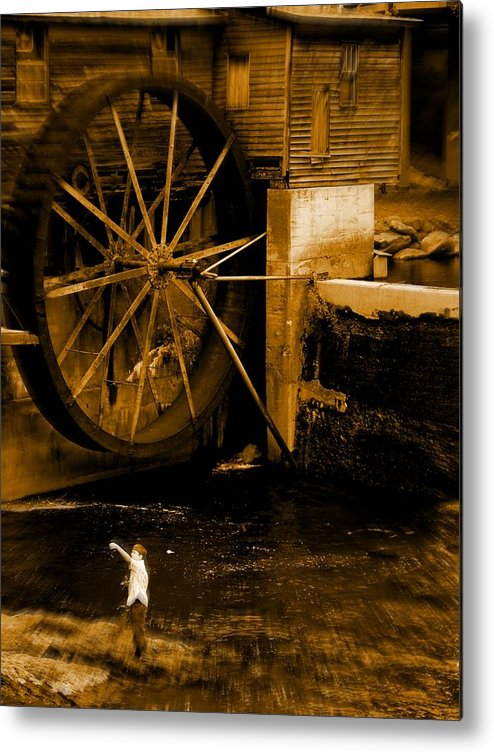 Fish Metal Print featuring the photograph First Catch by Jessica Burgett