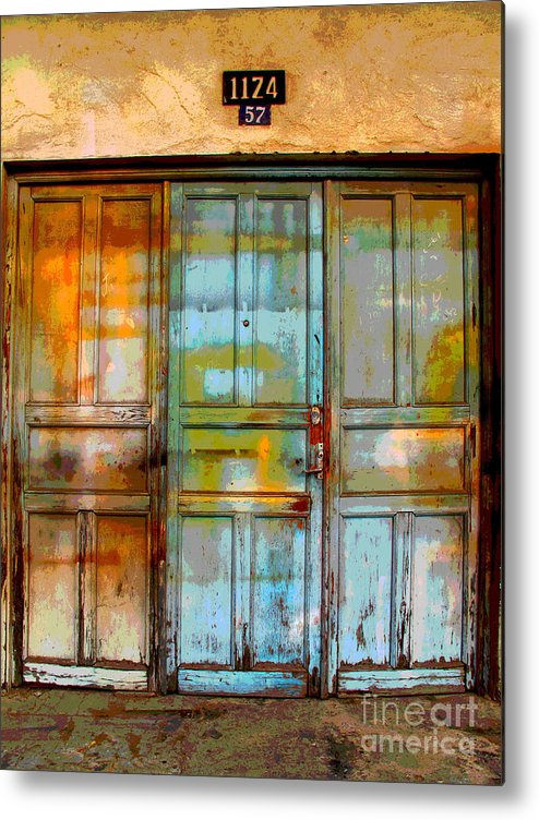 Darian Day Metal Print featuring the photograph Forgotten Trio 1 by Darian Day by Mexicolors Art Photography