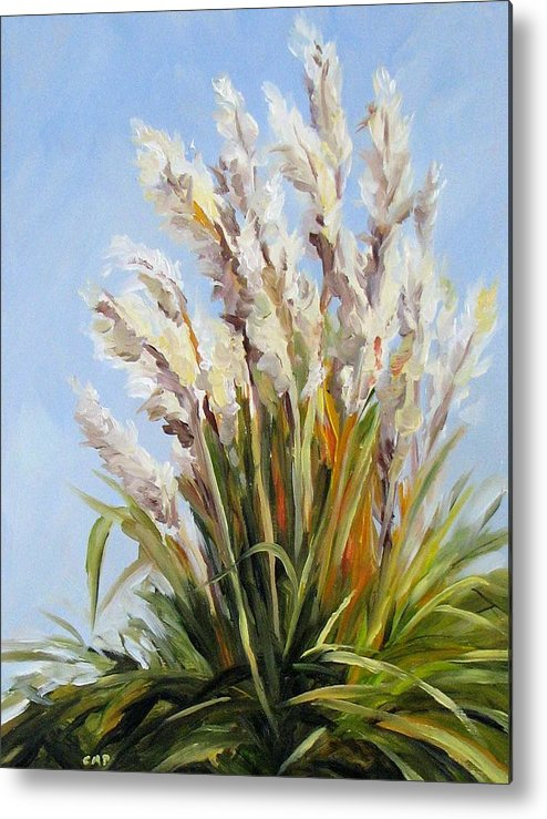 Daily Painting Metal Print featuring the painting Grand Pampas by Cheryl Pass