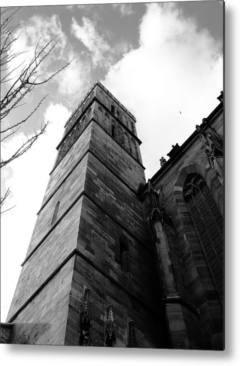 Cathedral Metal Print featuring the photograph Judgment by Dylan Punke
