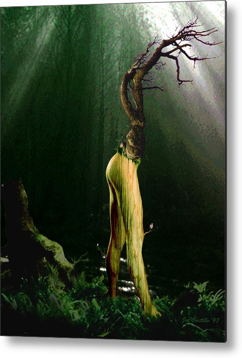 Tree Metal Print featuring the digital art Limbs by Joe Costello