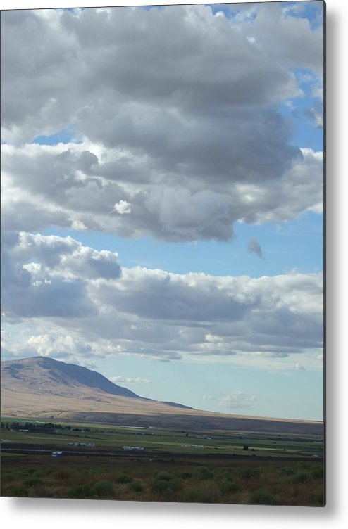 Clouds Metal Print featuring the photograph Midday Cloudscape by Ruth Stromswold