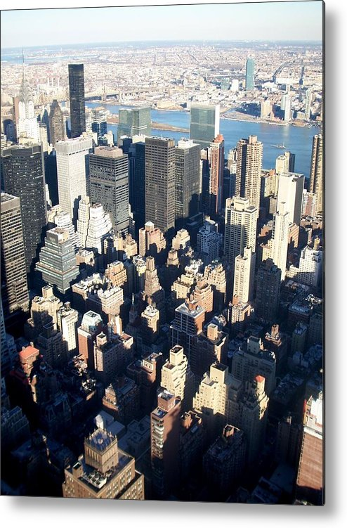 Nyc Metal Print featuring the photograph Nyc 4 by Anita Burgermeister