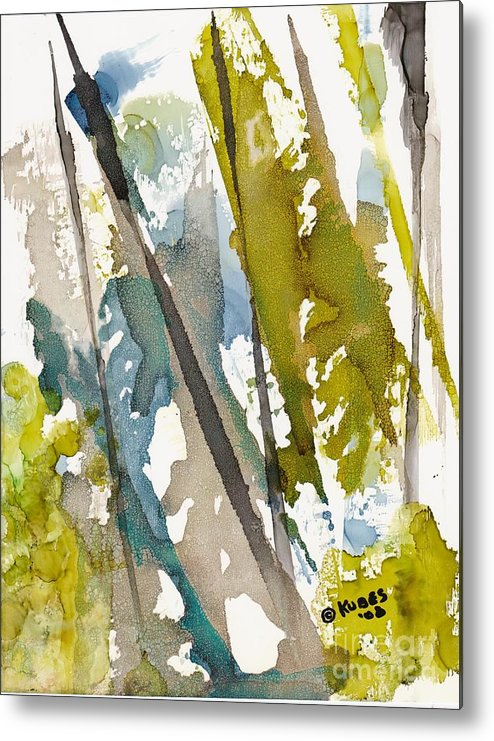 Forest Metal Print featuring the painting Tall Timber by Susan Kubes