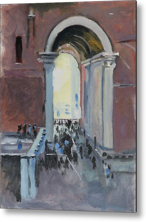 Rome Metal Print featuring the painting Vatican by Robert Bissett
