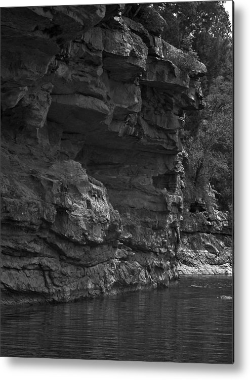 Metal Print featuring the photograph West-fork White River by Curtis J Neeley Jr