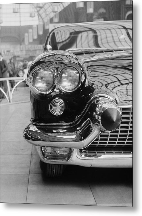 1950-1959 Metal Print featuring the photograph Cadillac by Thurston Hopkins